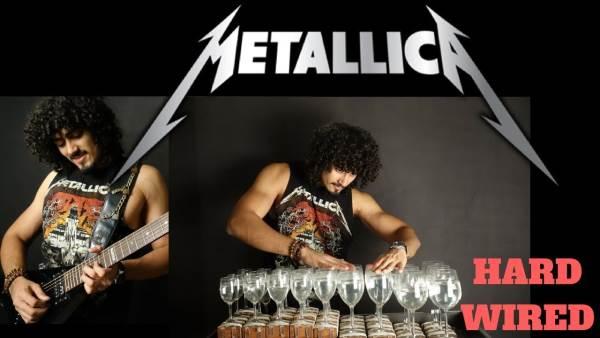 """Το """"Hardwired"""" των Metallica παιγμένο με γυάλινα ποτήρια"""