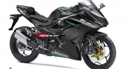 Indonesia menjadi tempat peluncuran pertama Kawasaki Ninja 250 fi 4-Silinder