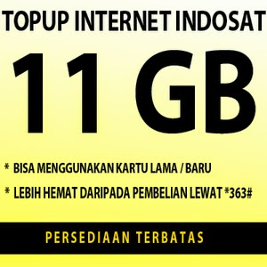 indosat data 11 GB