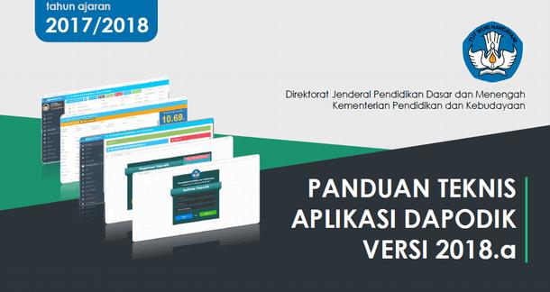 Panduan Teknis Aplikasi Dapodik Versi 2018.a