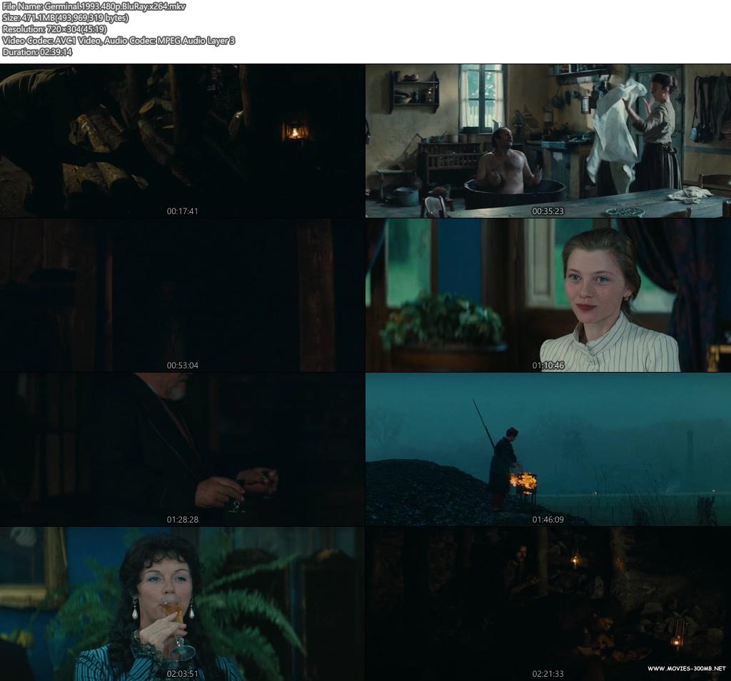 Germinal 1993 480p BluRay 450MB x264 Screenshot