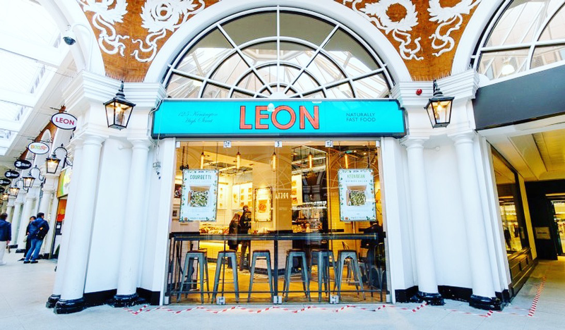 leon manger a Londres plaisir papilles fast food british