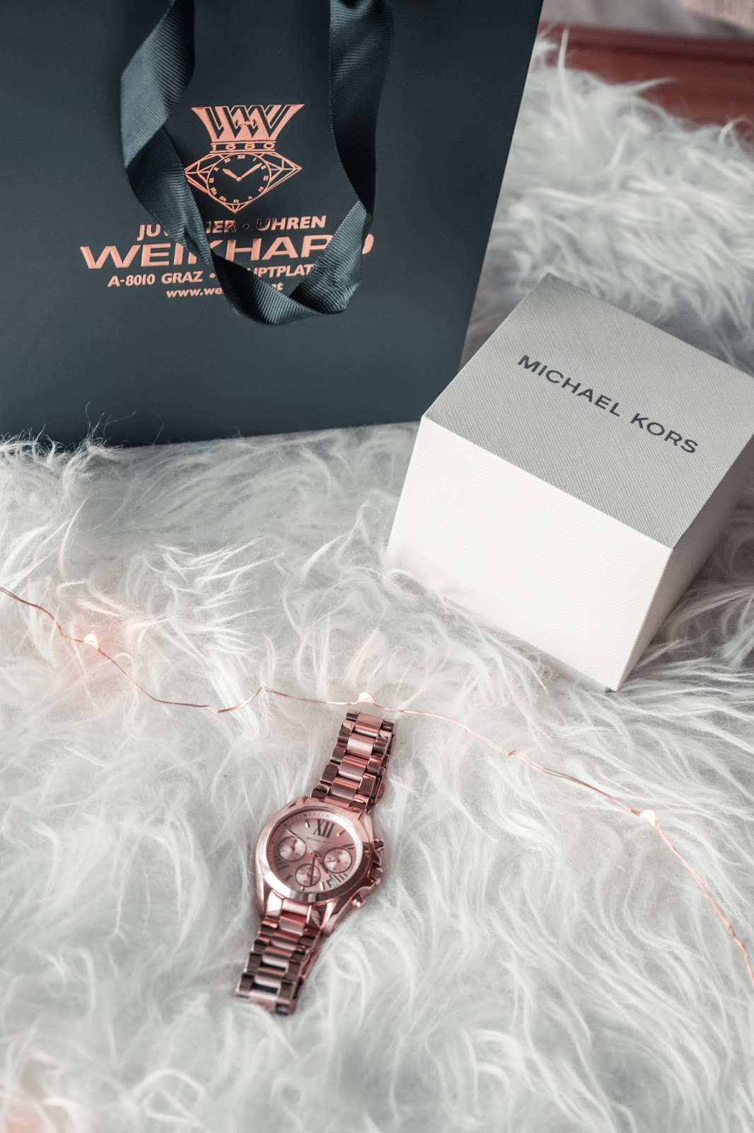 Zegarek Michael Kors bradshaw mini rose gold, blog lifestyle
