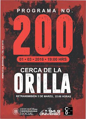 Cerca de la Orilla - programa 200