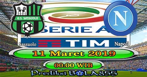 Prediksi Bola855 Sassuolo vs Napoli 11 Maret 2019