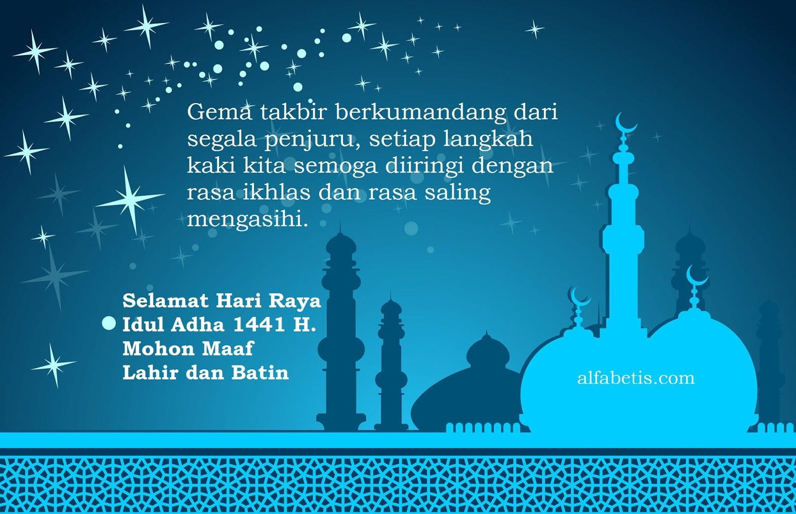 Kartu Ucapan Selamat Idul Adha Untuk Teman-teman