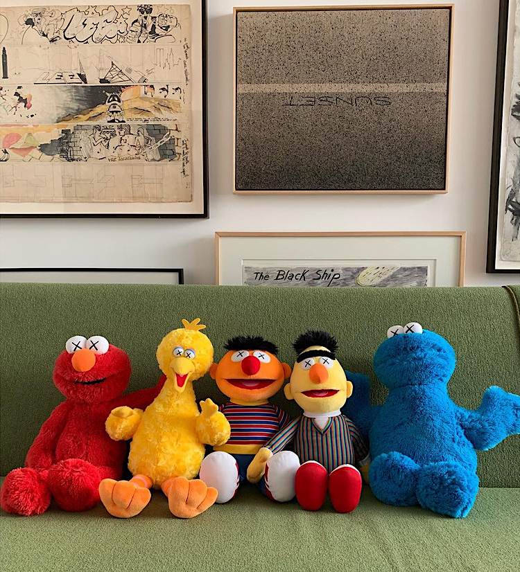 af25ff3993a BIG BIRD Joins KAWS  Sesame Street Plush Line-up from UNIQLO