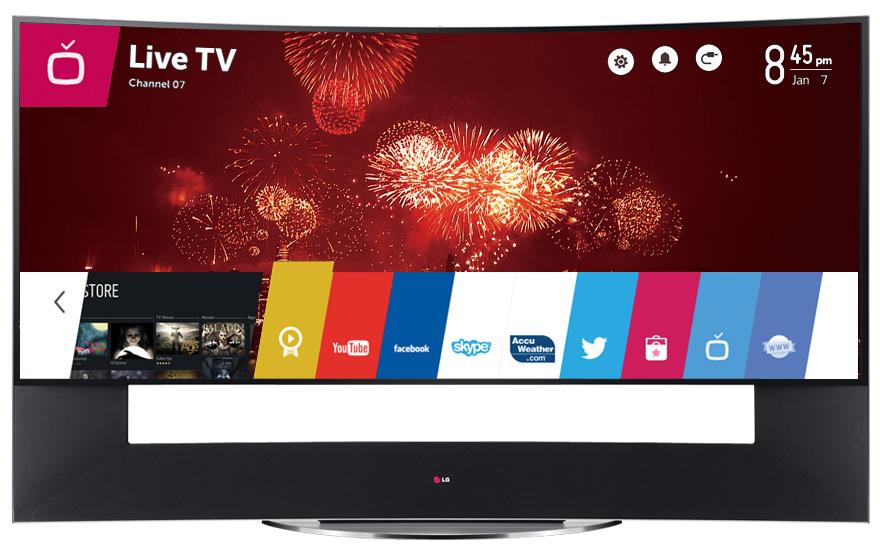 سعر شاشة وتلفزيون إل جي LG في الإمارات
