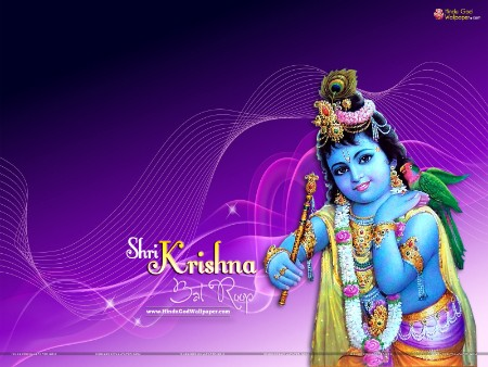Cute Lord bal krishna Images