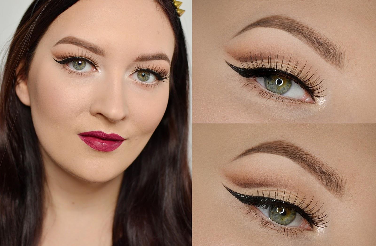 makijaż cut crease tutorial