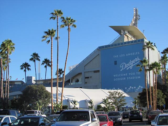 Dodger Stadium em Los Angeles na Califórnia