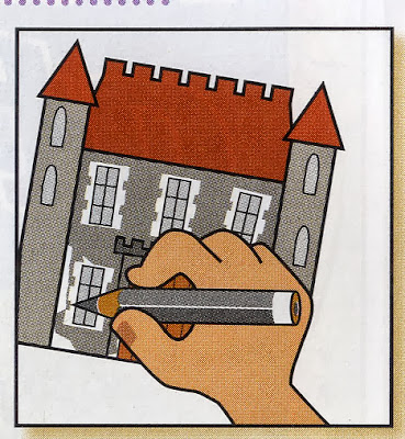 Castle project - Art projects for kids 1