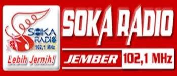 Streaming Soka Radio 102.1 fm Jember