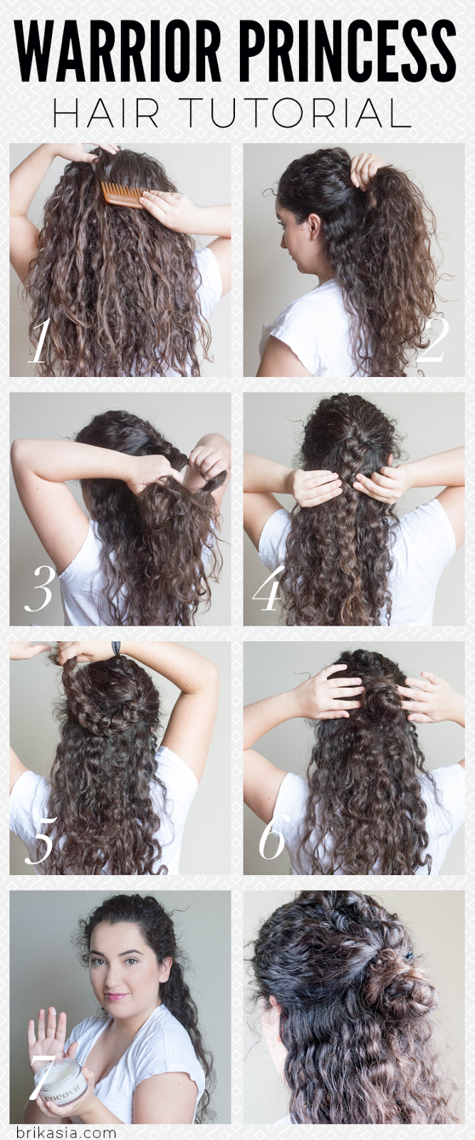 Peachy Warrior Princess Hair Tutorial Hairstyles For Women Draintrainus