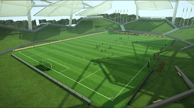 PES 2013 Stadium Practice FIFA 14 by D5ouglas