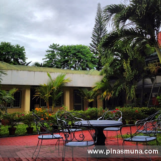 Courtyard of the Family Country Hotel in General Santos City