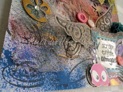 scrapbook mixed media colage scrap entre amigas