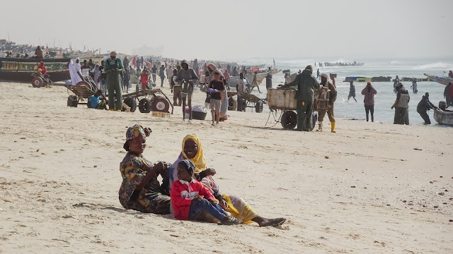 Mauritanians are shy but friendly