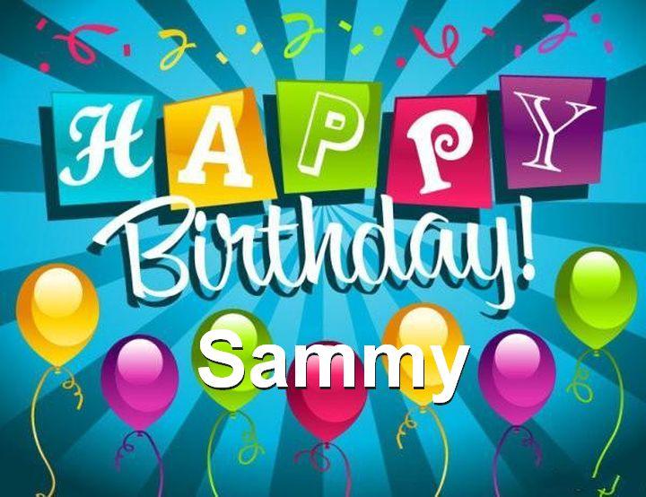 happy birthday sammy Wendelin's Blog: Happy Birthday, Sammy! happy birthday sammy