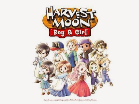 Harvest Moon: Boy and Girl: Spring Goddess Festival !
