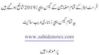 civics guess for 1st year lahore board