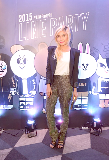 LINE Messaging, Line Philippines, Yeng Constantino