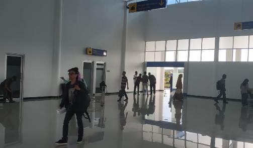 Jalur Mudik Melalui Bandara, H. Aroepala Selayar Belum Ramai