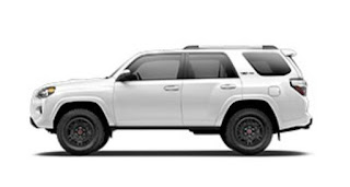 Toyota TRD Pro  Exterior dimensions