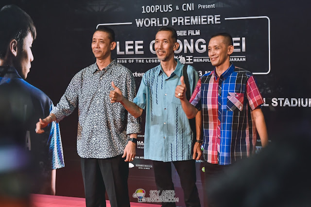 Datuk Misbun Sidek, Dato Sri Jalani Sidek and Rahman Sidek