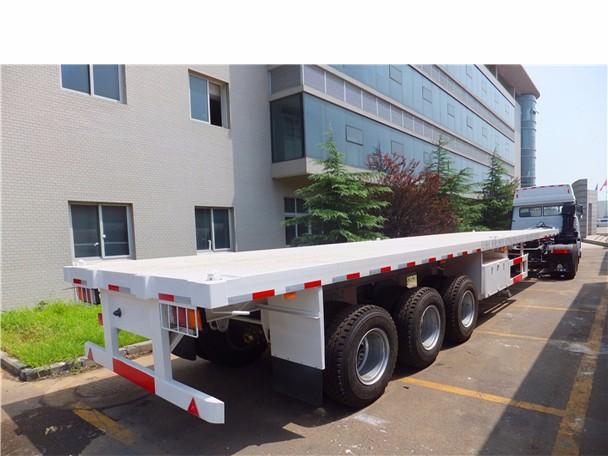 3 Axle Rv : China fudeng semi trailer manufacturer cheap axle ft