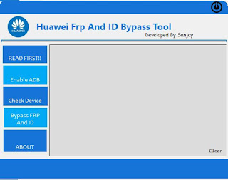Huawei Frp And ID Bypass Tool 2019