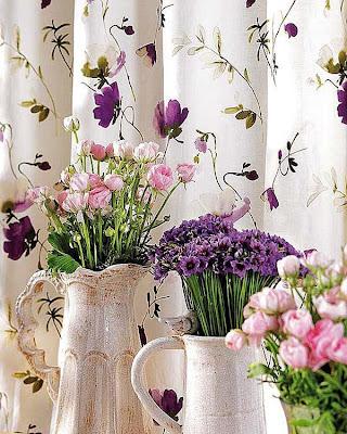 jarros com flores