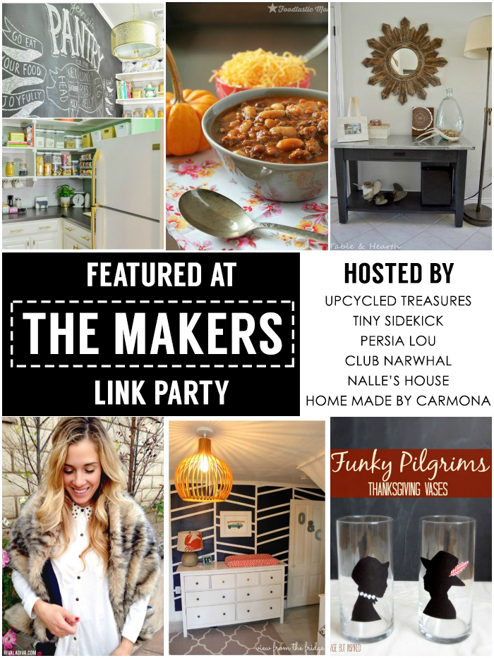 Featured at #themakerslinkparty!