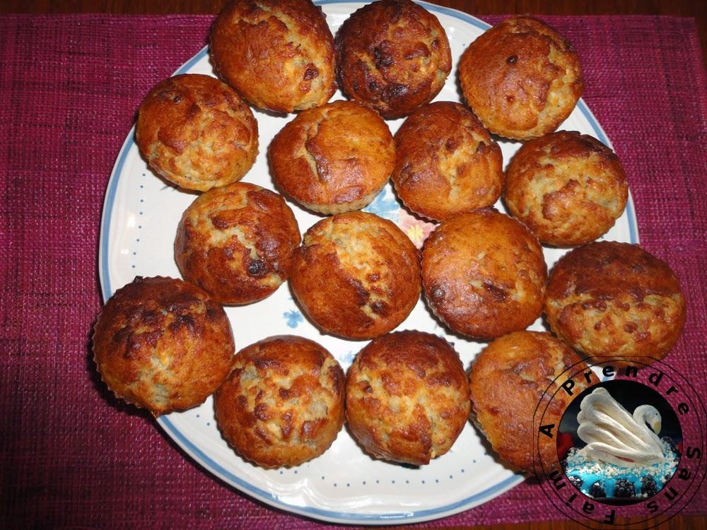Muffins à la pomme et cannelle