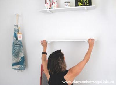 khoan tường bắt giá trang trí
