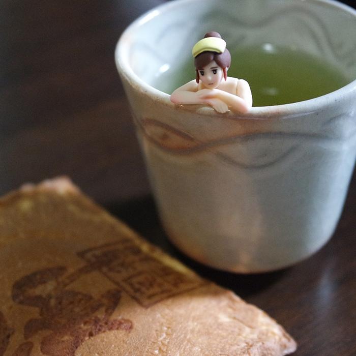 focus fuchiko tasse de the et senbei