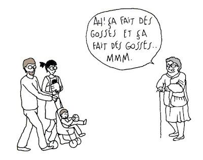 mamie famille groseille lardons bébé enfant