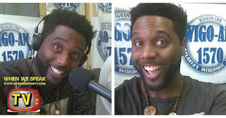 Jermaine Sain at WIGO 1570 radio