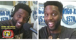 Jermaine Sain at WIGO 1570 radio