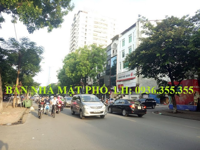 Bán nhà mặt phố Huỳnh Thúc Kháng, Láng Hạ