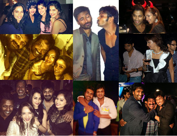 Tollywood Celebrities Party Pics