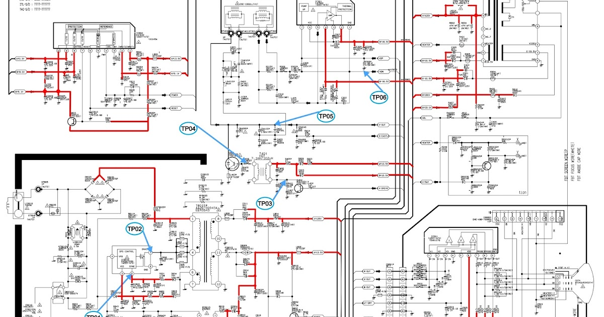 schematic diagrams  samsung cs21m16mjzxnwt crt tv  u2013 how to