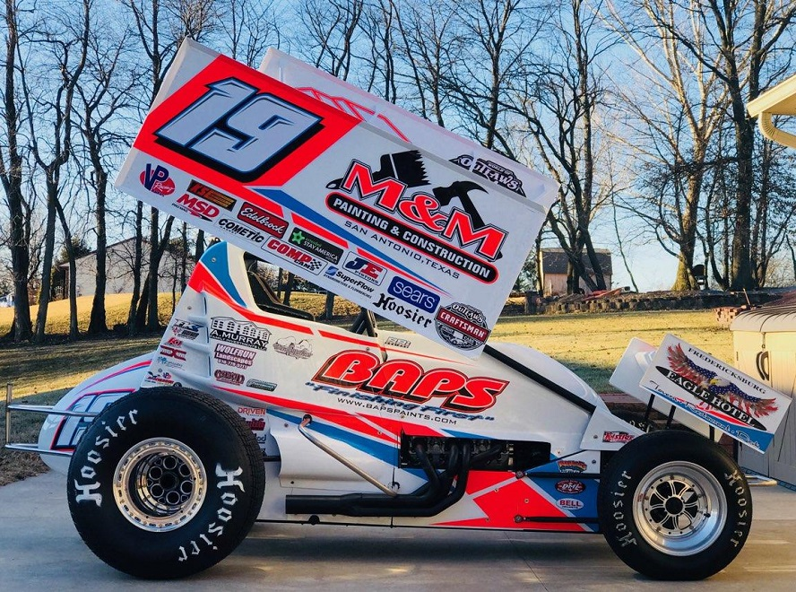 Brent Marks Debuts New Look For Sophomore Season With The World Of Outlaws Craftsman Sprint Car Series
