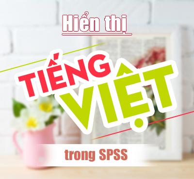 Thiết lập viết Tiếng Việt trong SPSS 20