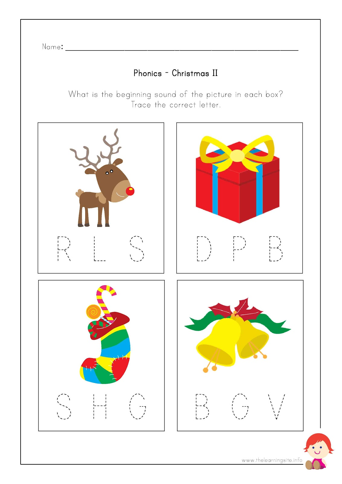 Search Results For Christmas Phonics Worksheets
