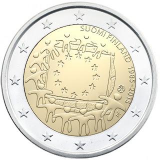 Suomen liikkeeseen laskeman kahden euron arvoisen uuden yhteisen erikoisrahan kansallinen puoli