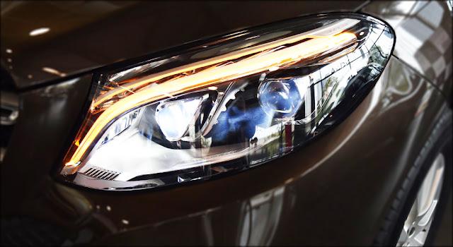 Hệ thống đèn trước Mercedes GLE 400 4MATIC 2019