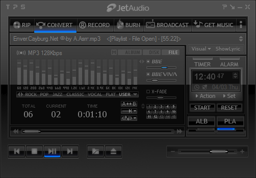 INVI Pro E4 (Jet Audio Skin) Full Download