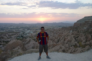 Yo en Sunset Point.