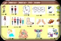 http://www.learningchocolate.com/en-gb/content/irregular-plural-nouns-0